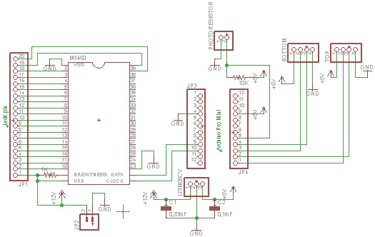 Схема подсветка лестницы светодиодной лентой своими руками 5