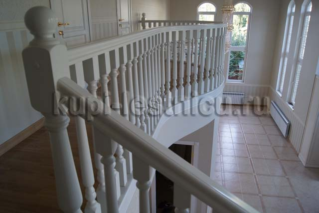 Цены на комплектующие для лестницы из сосны - Всё для