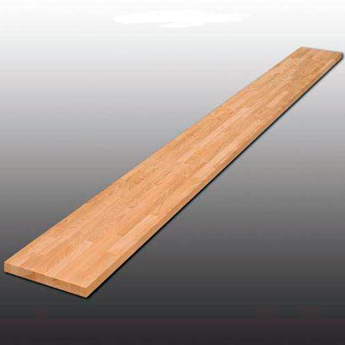 Mебельный щит из дуба, дубовый мебельный щит в Казани по