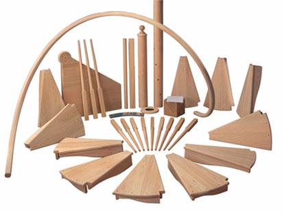 Балясины из дерева: понятие, виды, правила выбора и монтажа