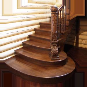 закрытая лестница в доме