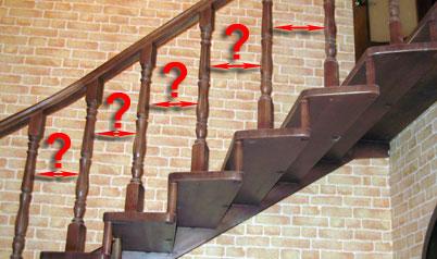 Балясины для лестниц – приемы крепления и монтажа