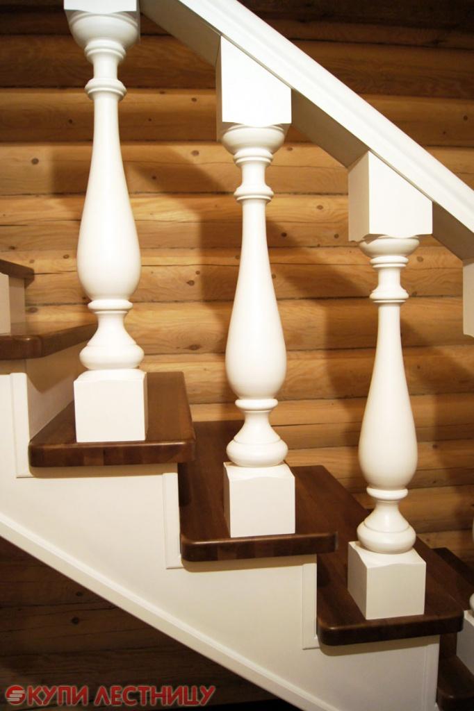 Деревянная лестница в частный дом своими руками