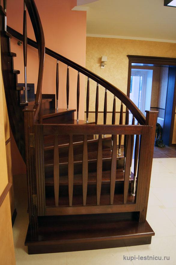 Как сделать калитку своими руками на лестнице от детей