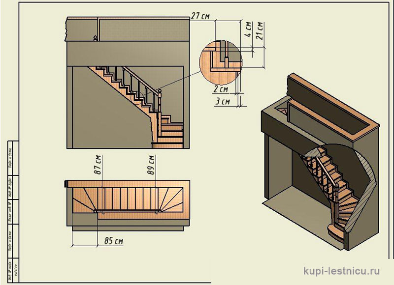 Расчет лестницы на второй этаж в частном доме своими руками схема фото 93