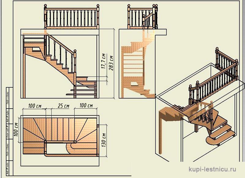 Сделать лестницу своими руками проекты