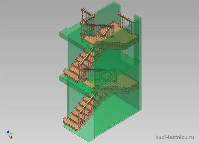 Лестницы для деревенского дома своими руками