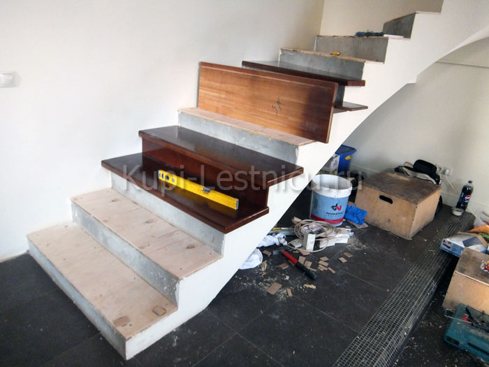 отделка лестниц из бетона москва