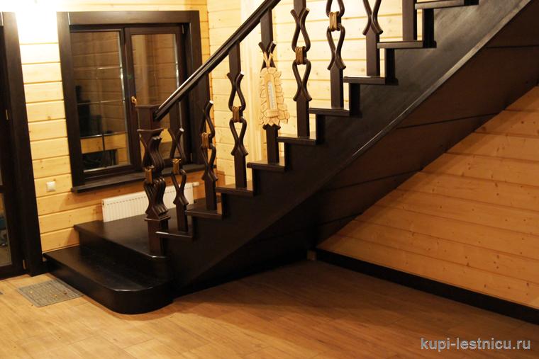 Лестницы из бука фото